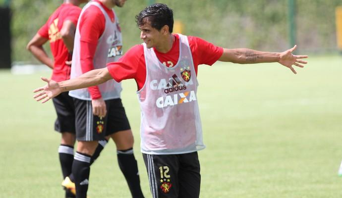 Everton Felipe Sport (Foto: Aldo Carneiro/ Pernambuco Press)