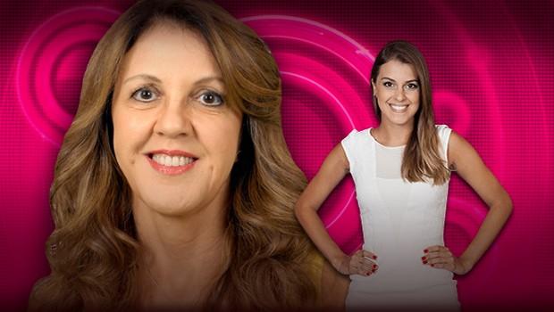 Ivone conta que é 'desbocada' como a filha Angela: 'Sou bem impulsiva'