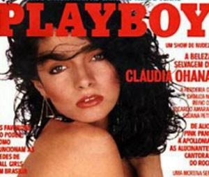 Capa da edição de fevereiro de 1985 da 'Playboy' (Foto: Divulgação)