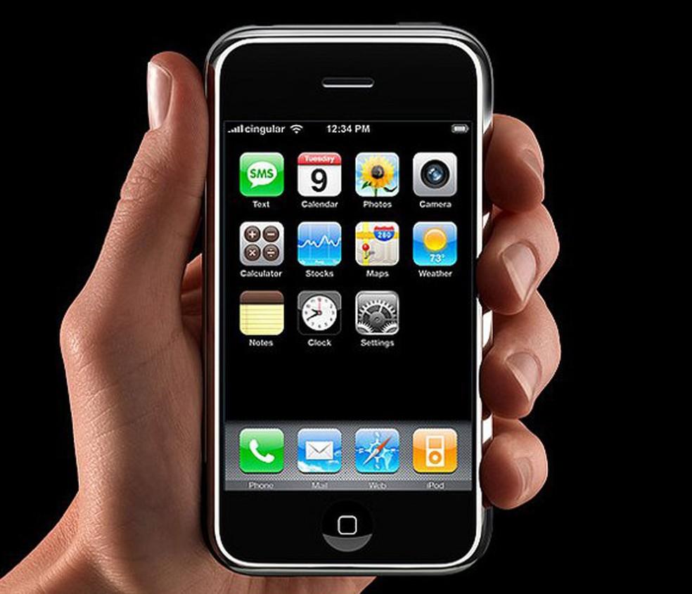 Câmera do primeiro iPhone não conseguia gravar vídeos (Foto: Divulgação)