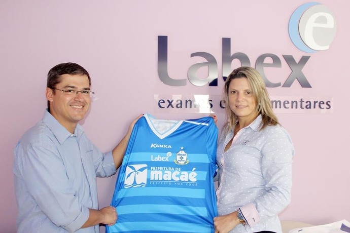 Macaé acerta com novo patrocinador (Foto: Tiago Ferreira)