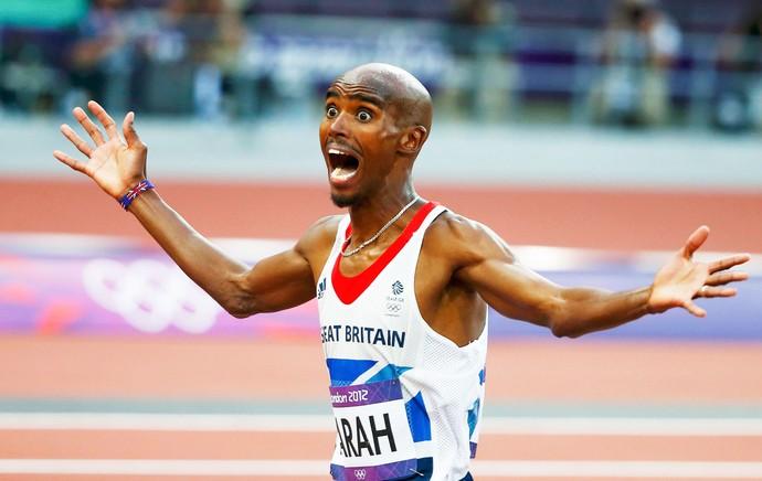 Mo Farah, campeão dos 5000m (Foto: Agência Reuters)