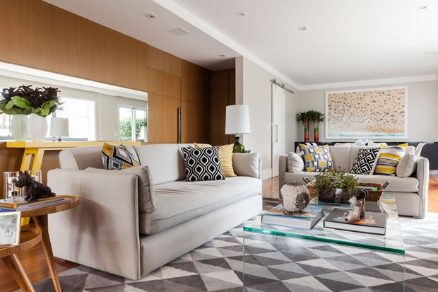Conheça o novo apartamento de Bia Feres, do nado sincronizado (Foto: Divulgação)