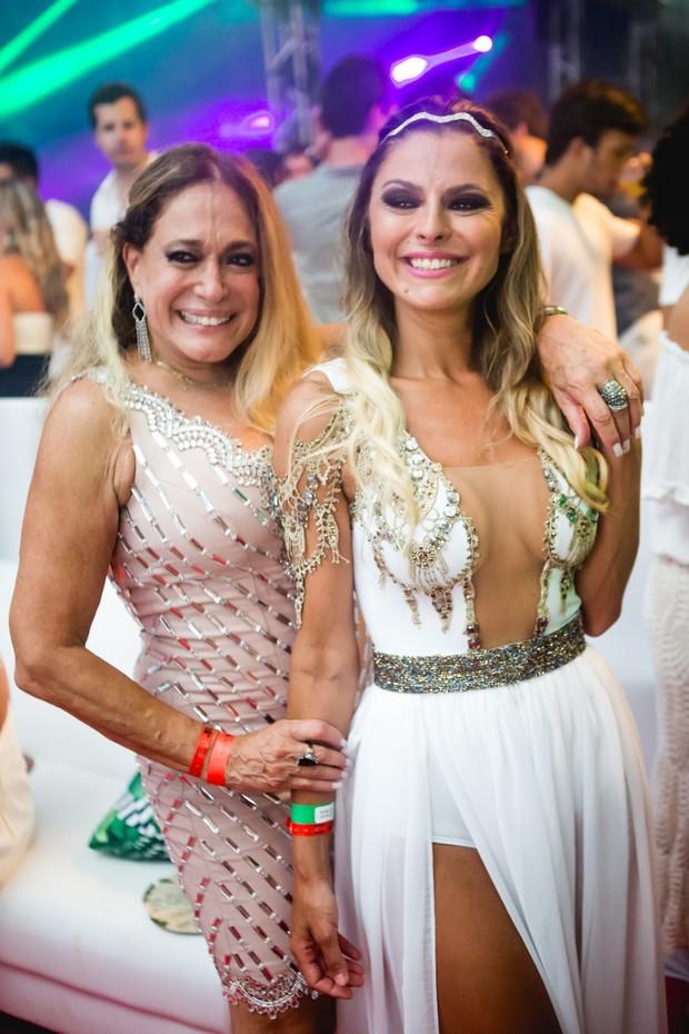 Susana Vieira com a nora Ketryn Goetten (Foto: Diego Jarschel)