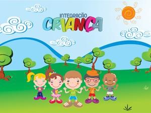 Personagens do Integração Criança 2013 (Foto: Divulgação TV Integração   Arte: Michel Antony)
