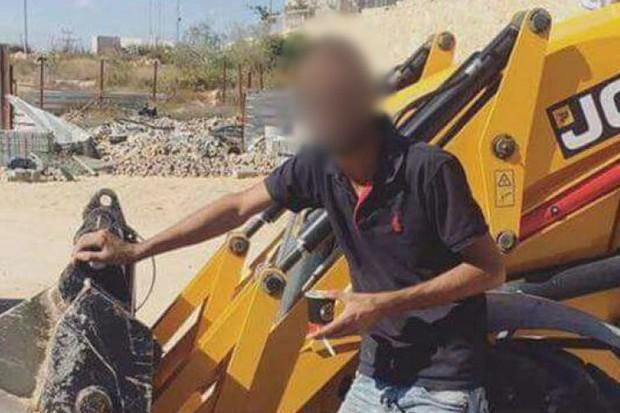 Publicação de trabalhador rendeu confusão em Israel (Foto: Reprodução/Haaretz)