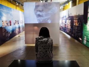 O Museu do Apartheid, em Johanesburgo (Foto: Gianluigi Guercia/AFP )
