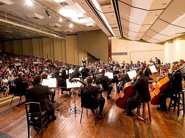 """Orquestra Sinfônica de Brasília, que se apresenta no primeiro dia de comemoração pela """"Semana da Europa"""" (Foto: Junior Aragão/Divulgação)"""