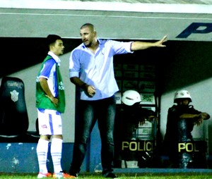 Luciano Quadros, técnico do Marília, Série A3 (Foto: Clodoaldo Moreira / Marília AC)