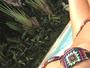 Eliana exibe barriga chapada em foto na web: 'Carnaval paz e amor'
