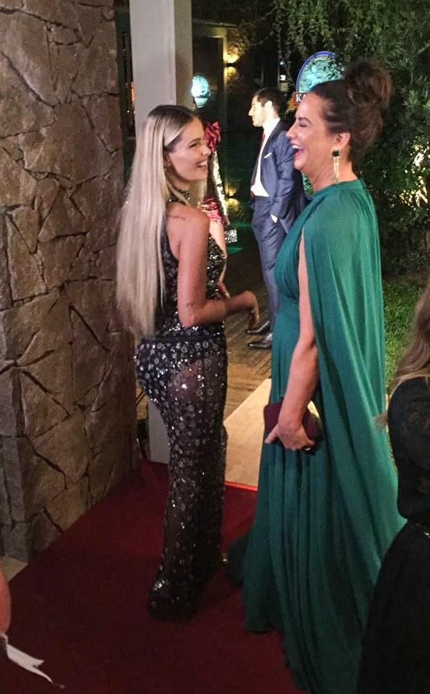 Luiza e Yasmin Brunet  (Foto: Vogue Brasil)
