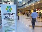 Internet sem fio grátis em aeroportos do país ainda apresenta problemas