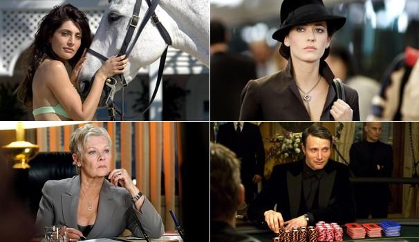 Caterina Murino, Eva Green, Judi Dench e Mads Mikkelsen compõe o premiado elenco (Foto: Divulgação)