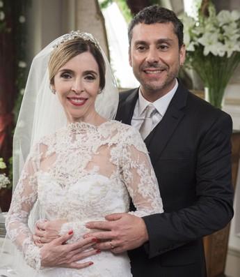 Romero lembra-se do dia em que casou com Kiki (Foto: Estevam Avellar / Globo)
