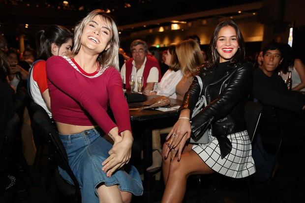 Bruna Marquezine e Maria Casadevall (Foto: Manuela Scarpa/Brazil News)