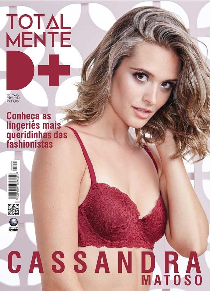 Cassandra na capa da Totalmente Demais (Foto: TV Globo)