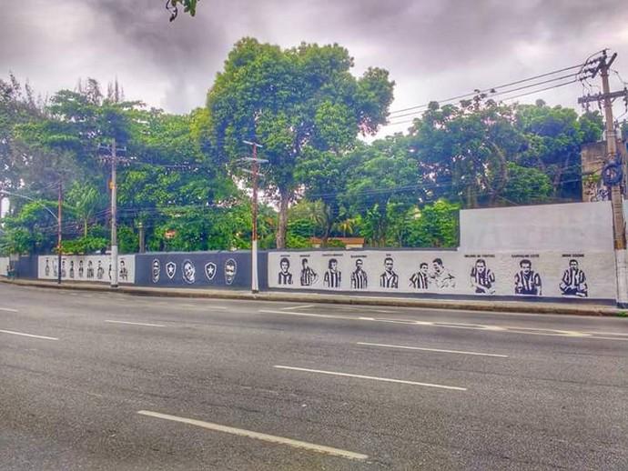 Muro de General Severiano (Foto: Divulgação)