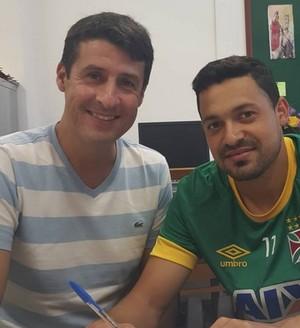 Eder Luis renovação Vasco (Foto: Reprodução Instagram)