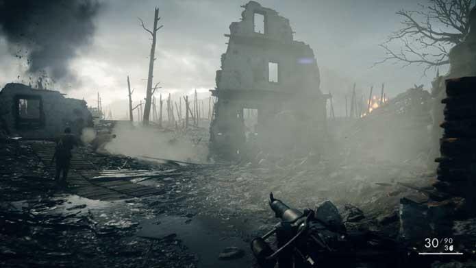 Battlefield 1 x Hardline: confira o comparativo gráfico entre os jogos (Foto: Reprodução/Murilo Molina)