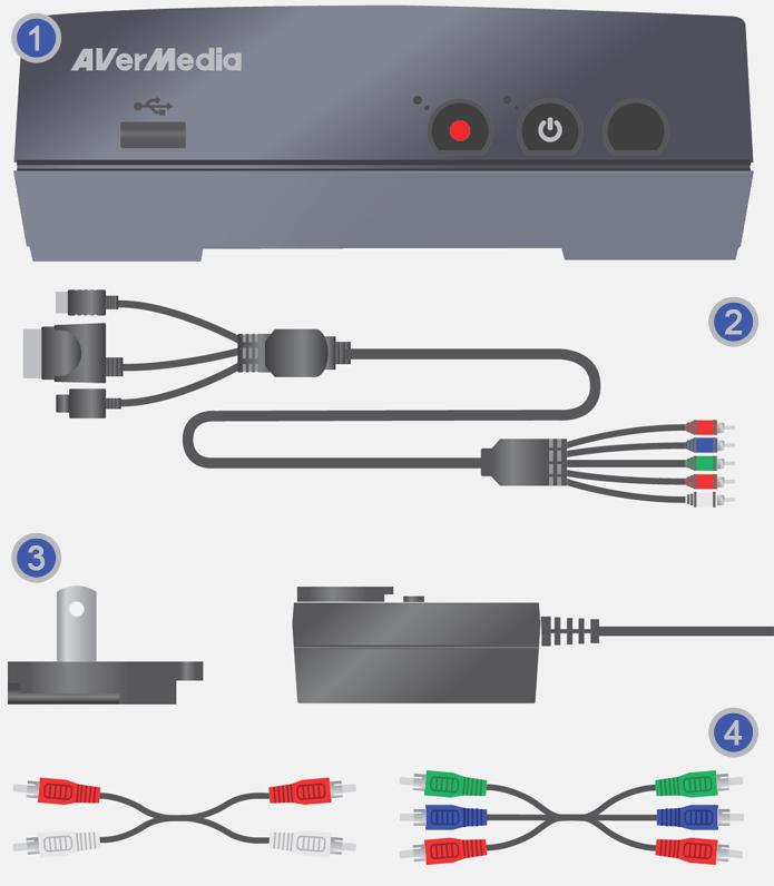 Identificando os Componentes AVerMedia Game Capture HD (Foto: Reprodução/Silas Tailer).