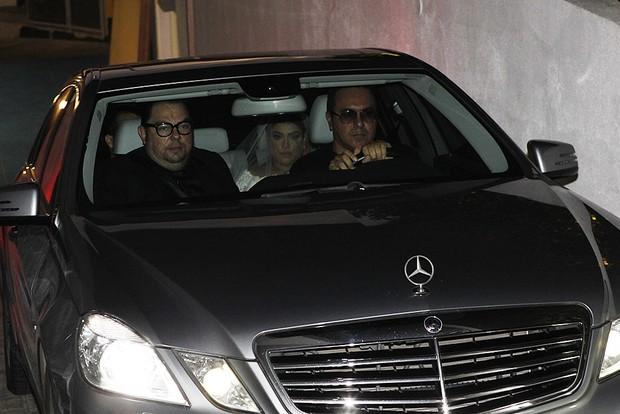 Preta Gil chegando na igreja (Foto: Marcos Serra Lima/EGO)