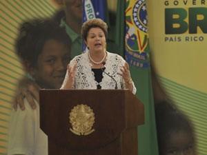 Dilma-Brasil Carinhoso (Foto: Agência Brasil)