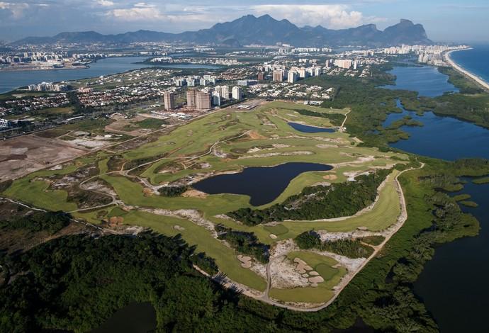 Campo de golfe olímpico (Foto: Gabriel Heusi/Brasil2016.gov.br)