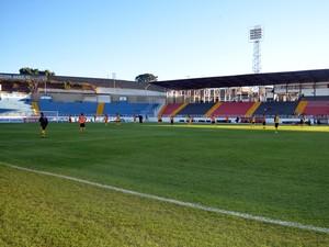 Estádio Melão, em Varginha (Foto: Lucas Soares)