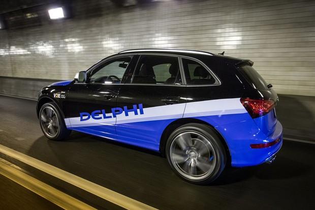 Audi Q5 autônomo da Delphi (Foto: Divulgação)