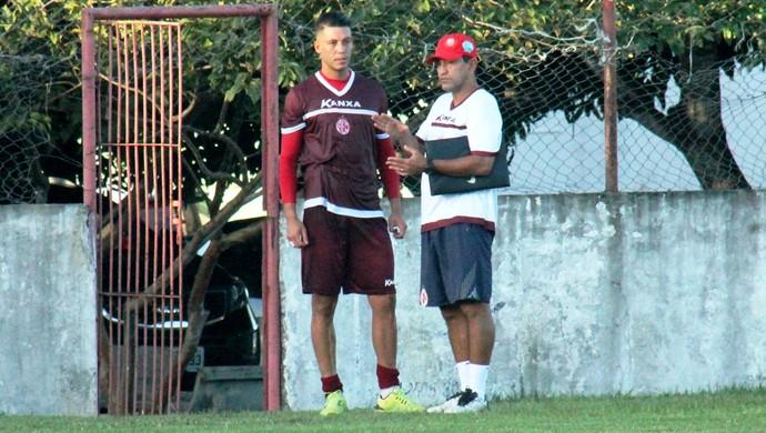 América-RN - Sérgio China - João Paulo (Foto: Canindé Pereira/Divulgação)