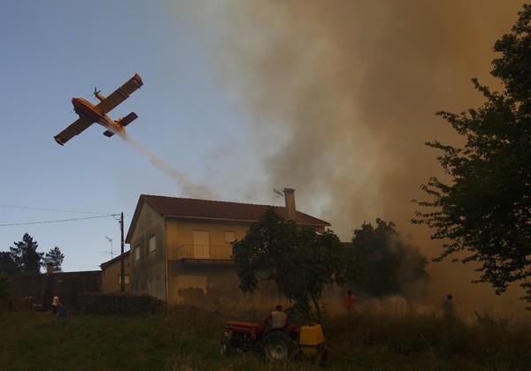 Incêncio atingiu a região de Pedrógão Grande, em Portugal (Foto: Getty Images)