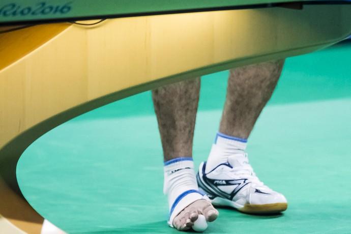 egípcio, Ibrahim Hamadtou, tênis de mesa (Foto: Divulgação/ITTF)