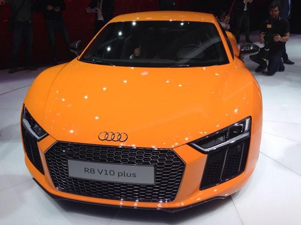 Audi R8 V10 (Foto: André Paixão/G1)