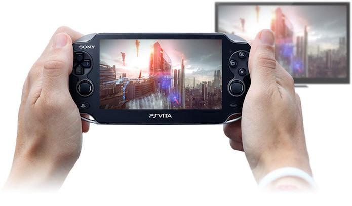 Remote Play entre PS4 e PS Vita (Foto: Divulgação/Sony)