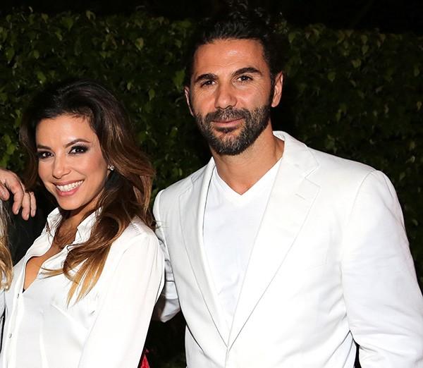 Eva Longoria e Jose Antonio Baston (Foto: Getty Images)