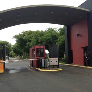 CT Atlético-PR treino Palmeiras (Foto: Felipe Zito)