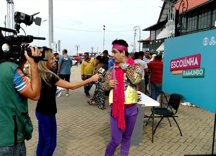 A ação teve destaque nos telejornais da Rede Amazônica (Foto: Onofre Martins/Rede Amazônica)