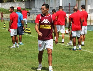Léo Gago - volante do América-RN (Foto: Canindé Pereira/Divulgação)