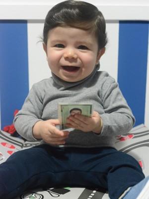 Gabriel tem R.G. desde os sete meses de idade (Foto: Arquivo Pessoal/Gisele Massarotto)