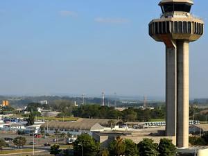 O Aeroporto Internacional de Viracopos, em Campinas (Foto: Fernando Pacífico / G1 Campinas)