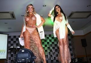 Andressa Urach e Jennifer Pamplona (Foto: Iwi Onodera / EGO)