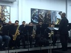Orquestra de Jazz de Barra Mansa, RJ, se apresenta no Parque da Cidade