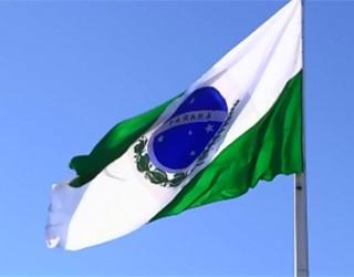 Bandeira do Paraná  (Foto: Reprodução/ RPC TV)