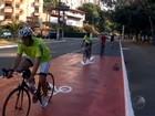 Saiba quais diferenças das vias para a bike (Reprodução/TV Bahia)