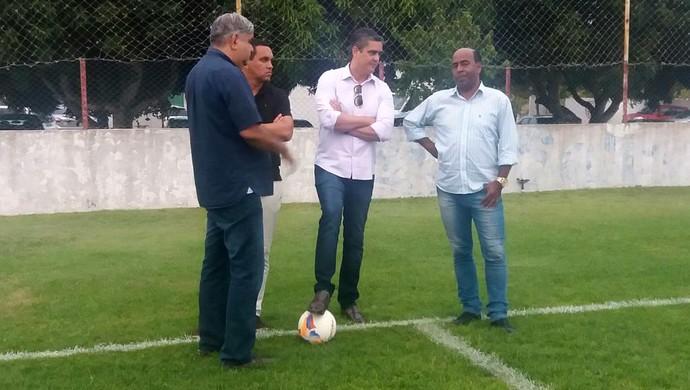 América-RN - Beto Santos, Walmir Nunes, Iury Bagadão, Carlos Moura Dourado (Foto: Divulgação/América-RN)