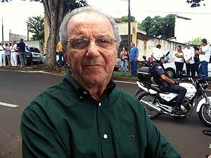 Jjornalista Saulo Gomes, embaixador do Instituto Chico Xavier (Foto: Paulo Borges/G1)