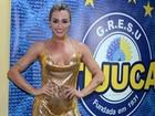 Juju Salimeni exibe curvas voluptuosas para ensaio na Unidos da Tijuca