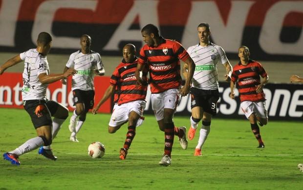 Atlético-GO x Figueirense pela Copa Sul-Americana (Foto: O Popular)