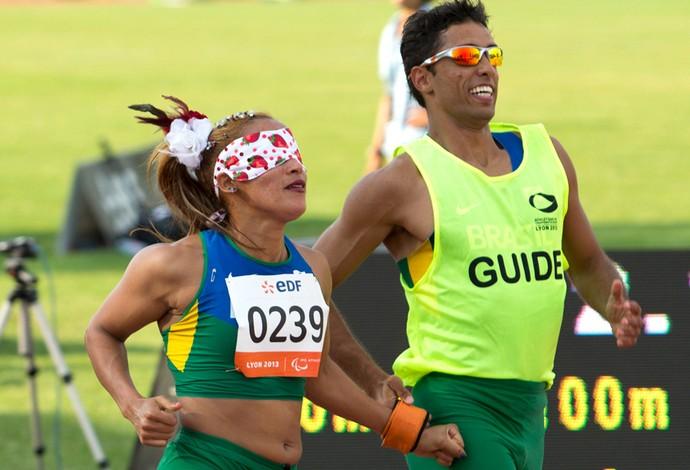 Terezinha Guilhermina Mundial de atletismo  (Foto: Washington Alves / MPIX / CPB)