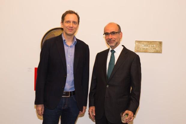 Jochen Volz e José Olympio (Foto: Janssem Cardoso)